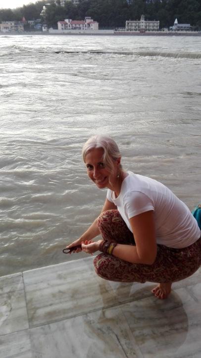 A orillas del Ganges, en Rishikesh